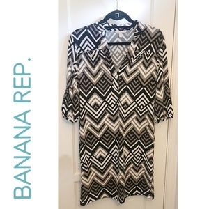 Banana Republic Patterned Dress